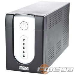 ИБП UPS PowerCom IMP-1200AP Line-Interactive, 1200VA / 720W, Tower, IEC, USB - фото 2660466
