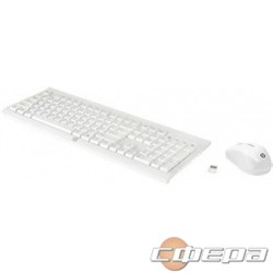 Опция для ноутбука HP C2710 M7P30AA Wireless Combo Keyboard/Mouse USB white - фото 2666672