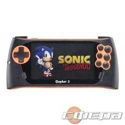 """Игровые приставки SEGA Genesis Gopher 2 LCD 4.3"""", +500 игр (оранжевая) ConSkDn50 - фото 2683178"""