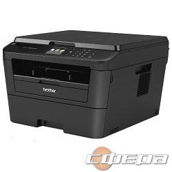 Принтер Brother DCP-L2560DWR, A4, 64Мб, 30стр/мин, дуплекс, LAN, WiFi, USB, приложения, старт.картридж 1200стр - фото 2724991