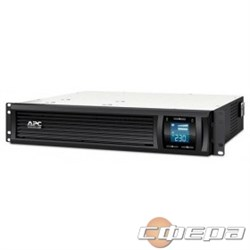ИБП APC Smart-UPS C 1000VA SMC1000I-2URS Line-Interactive, 2U RackMount, LCD, out: 220-240V 4xC13, LCD, Gray, 1 year warranty, No CD/ cables  - фото 2883926