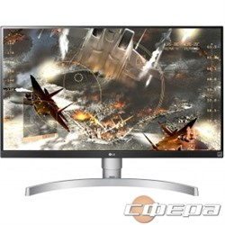 "Монитор LCD LG 27"" 27UL650-W белый IPS 3840x2160 5ms 350cd 1000:1(Mega DCR) DisplayPort HDMIx2 Audioout HAS Pivot vesa - фото 2890341"