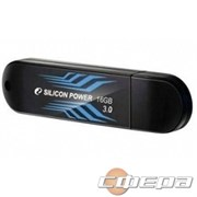 Носитель информации Silicon Power USB Drive 16Gb Blaze B10 SP016GBUF3B10V1B USB3.0, Black