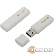 Носитель информации USB 2.0 QUMO 8GB Optiva 01 White QM8GUD-OP1-white