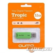 Носитель информации USB 2.0 QUMO 32GB Tropic Green QM32GUD-TRP-Green