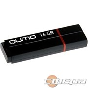 Носитель информации USB 3.0 QUMO 16GB Speedster QM16GUD3-SP-black