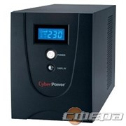 ИБП UPS CyberPower V 1200EI VALUE1200EILCD 1200VA/720W USB/RS-232/RJ11/45 (6 IEC)
