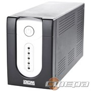ИБП UPS PowerCom IMP-1200AP Line-Interactive, 1200VA / 720W, Tower, IEC, USB