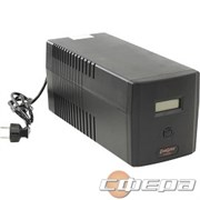 ИБП Exegate EP212519RUS ИБП Exegate Power Smart ULB-1000 LCD <1000VA, Black, 2 евророзетки+2 розетки IEC320, USB>