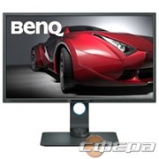 "Монитор LCD BenQ 32"" PD3200U черный IPS LED 3840x2160 4ms 16:9 350cd 178°/178° DVI Mini DisplayPort HDMI(v2.0) DisplayPort"