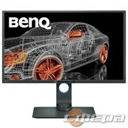 "Монитор LCD BenQ 32"" PD3200Q серый/черный VA, 2560x1440, 4ms, 300 cd/m2, 3000:1 (DCR 20M:1), DVI, HDMI, DP, mini DP"