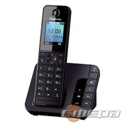 "Телефон Panasonic KX-TGH220RUB  (черный) АОН, Caller ID, ""Радионяня"""