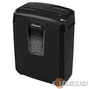 Уничтожитель Fellowes Шредер Microshred 8MC FS-4692501 DIN P-4/P-5, 3х10мм, 8лст., 14лтр.,уничт.: скобы, пл.карты
