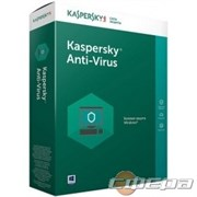 Программное обеспечение KL1171RBBFS Kaspersky Anti-Virus Russian Edition. 2-Desktop 1 year Base Box