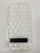 Чехол силиконовый Usams для APPLE iPhone 7, Gelin Series, чёрный