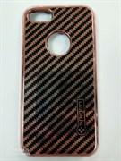 Чехол ТПУ для iPhone 7, арт.009378 (Золотой + черный)