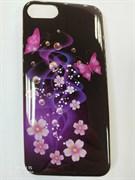 Силиконовый чехол для iPhone 7, арт. 009491 (Фиолетовый)