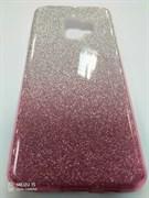 Чехол ТПУ с градиентом для Samsung Galaxy S9, арт.009191 (Розовый)