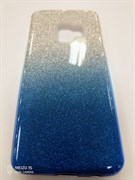 Чехол ТПУ с градиентом для Samsung Galaxy S9, арт.009191 (Голубой)