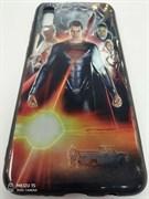 Силиконовый чехол Samsung Galaxy A50 Супер герои