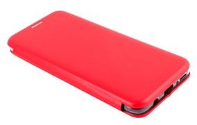 Чехол-книга    Samsung   A50 с силиконовым основанием, красный