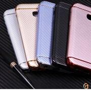 Чехол ТПУ+пластик для Samsung Galaxy S8, арт.009808 (Серебристый)