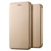 Чехол-книга Fashion Case Samsung G973F Galaxy S10 с силиконом и магнитом, золотой