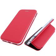 Чехол-книга Samsung G973F Galaxy S10 Soft touch c силиконовым основанием, красная