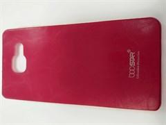 Чехол силиконовый Boostar для SAMSUNG Galaxy A3 (2016) под кожу цвет: красный, в техпаке