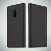 Чехол-книжка для Samsung Galaxy A6 (2018), арт.002017 (Черный)